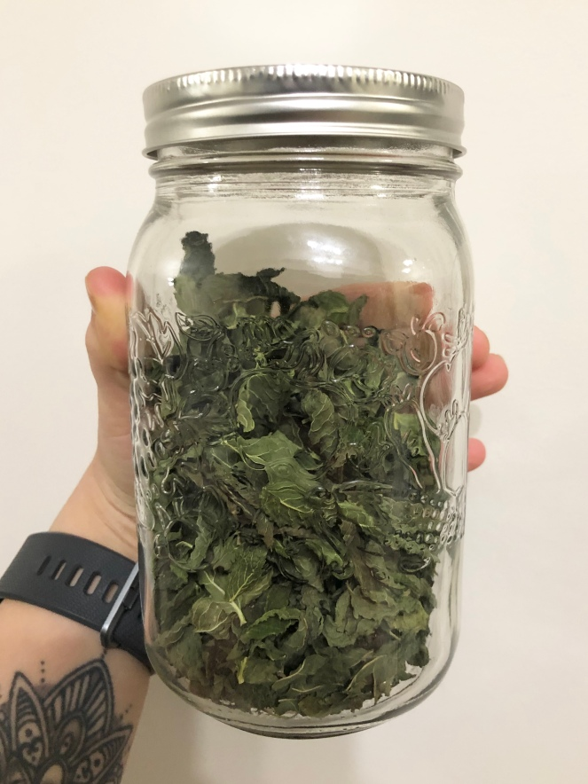 Chocolate Mint Herbal Tea